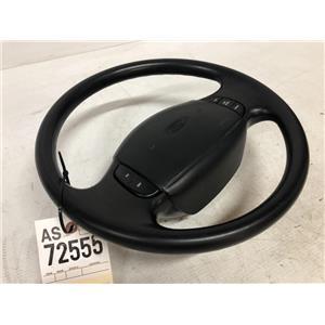 1999-2004 Ford F350/F250 Black XLT steering wheel tag as72555