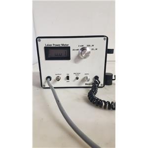 METROLOGIC 45-545 LASER POWER METER (LOT OF 10)
