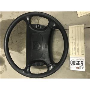 1998-2002 Dodge Cummins 3500 black steering wheel as53500