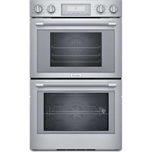 "Thermador Professional Series 30"" SS SoftClose Wi-Fi Double Wall Oven PODS302W"
