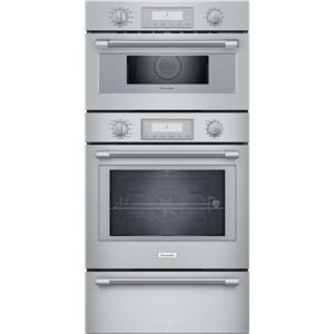 """Thermador Professional Series 30"""" Wi-Fi Smart Triple Wall Oven PODMCW31W"""
