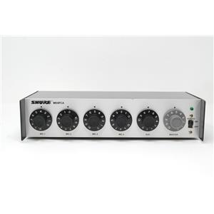 Shure M68FCA 4-Channel Microphone Mixer