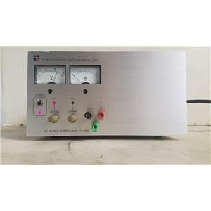 TOPWARD ELECTRICS INSTRUMENTS TPS-2000 DC POWER SUPPLY