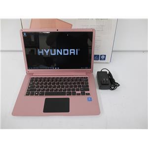 "Hyundai HU4P401EC Thinnote FHD Pentium N4200 2.5GHZ 4GB 32GB 14"" W10H"