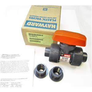"""Hayward TB1050STE 1/2"""" PVC Ball Valve Socket/Thread EPDM New"""