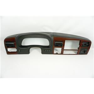 2005-2007 Ford F250 F350 Wood Grain Dash Bezel Power Point Info Buttons Vents
