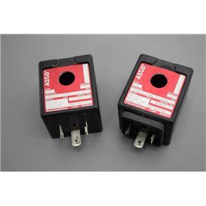 Lot of 2 ASCO SCXB262C94V Part Number 400325-141 Solenoid Coil Warranty