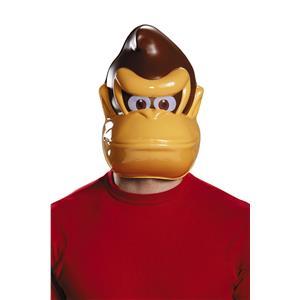Donkey Kong Country Gorilla Plastic Adult Mask