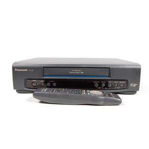 Panasonic PV-7401 4-Head Omnivision VHS VCR Recorder/Player W/ Remote