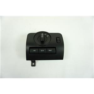 2010-2012 Ford Mustang Head Light Switch with Dimmer Bezel and Info Buttons
