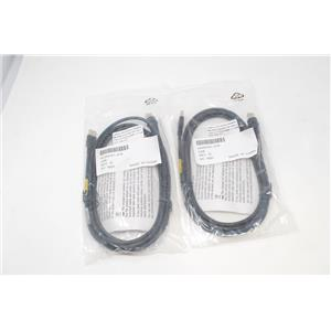 Lot of 2 New Honeywell 42206161-01E Ethernet to USB 2.0 Barcode Scanner Cables
