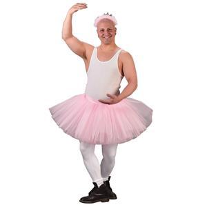 Tu Tu Grande Mens Pink Tutu Ballerina Adult Costume Accessory