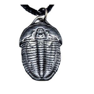 "Elrathia Kingi  Trilobite Necklace Fossil Replica 1 1/2"" size #14579  2o"