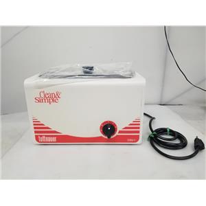 Clean & Simple Tuttnauer CSU-1 Ultrasonic Cleaner