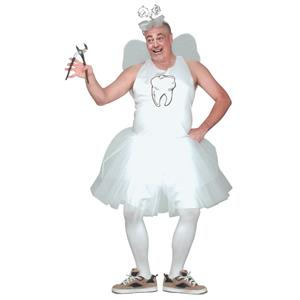 Tooth Fairy Adult Mens Princess Costume