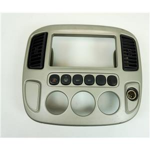 2001-2007 Ford Escape Radio Climate Dash Trim Bezel with Vents and Info Buttons
