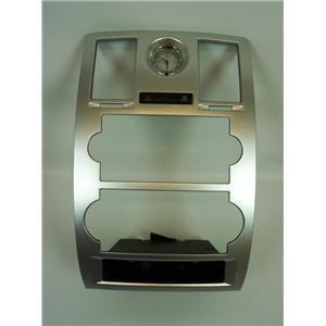 2005-2007 Chrysler 300 Radio Climate Center Bezel Clock Traction ESP