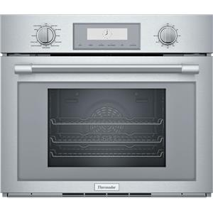 """Thermador Professional Series PODS301W 30"""" Single Steam Wall Oven Excellent Fro."""