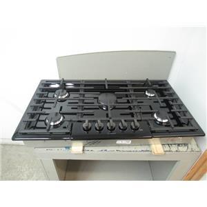 "Bosch 800 Series 36"" BLK 5 OptiSim Sealed Burners Gas Cooktop NGM8646UC"