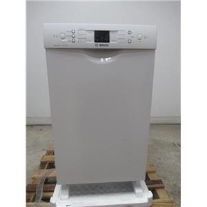 "Bosch 300 Series 18"" 4 Cycles 46 dBA White Full Console Dishwasher SPE53U52UC (local)"