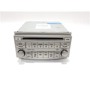 08 09 10 Toyota Avalon AM FM Stereo Single CD MP3 Player 8612007060 A5185 OEM