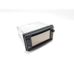 12 13 Toyota Highlander AM FM Stereo CD Navigation Display Screen 861400E110 OEM