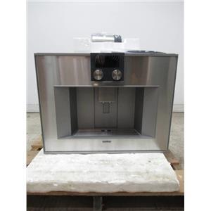 Gaggenau 400 Series Stainless Built-In Automatic Espresso Machine CM450710