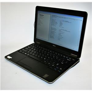 """Dell Latitude E7240 12.5"""" Intel Core i5 4th 8GB 128GB Chrome WiFi BT Ultrabook"""