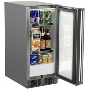 Marvel 15 Inch Built-in Outdoor Refrigerator MO15RAS2RS  with 2.9 cu ft Capacity (PRICE)