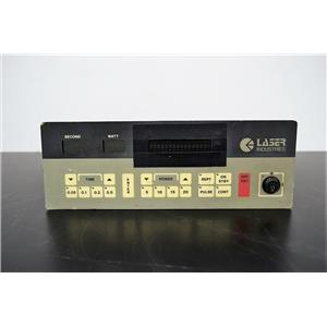 Used: Laser Industries Sharplan 1020 Laser Control Panel with Warranty