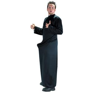 Men's Keep up the Faith Naughty Priest Standard Size Adult Costume
