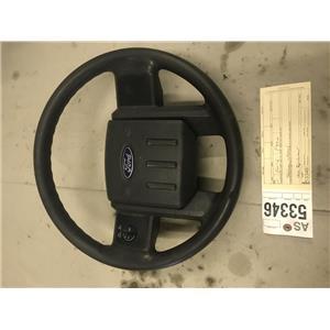 2008-2010 Ford F250 F350 XLT XL black steering wheel as53346