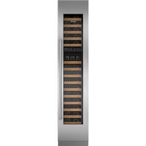 NIB Sub-Zero 18 Inch 59-Bottle Capacity Dual Temperature Wine Storage IW18RH