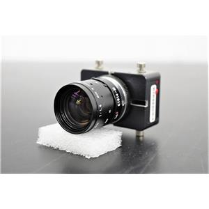 Pentax C1614-M TV Lens 16mm w/ Sensor, BD Innova Microbiology Processor Warranty