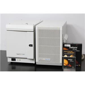 Varian 3900 GC Gas Chromatograph & Saturn 2100T Ion Trap GC/MS 2000 w/ Software