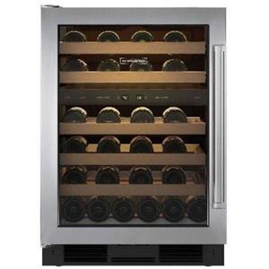 NIB Sub-Zero 24 Inch 46 Bottle Capacity Undercounter Wine Cooler UW24SPHLH