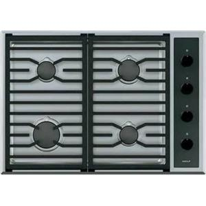 """NIB Wolf 30"""" SS 4 Dual-Stacked Sealed Burners Transitional Gas Cooktop CG304TS"""
