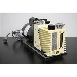 Tested Agilent DS-102 Rotary Vane 2-Stage Vacuum Pump w/1/2 HP Motor Warranty