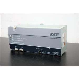 SolaHD SDU 500 Uninterrupted Power Supply for BD Innova Processor Warranty
