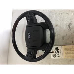 2014-2016 Ford F350 Platinum complete steering wheel tag as72646