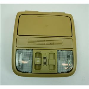 2009-2012 Honda Accord Pilot Overhead Console with Sunroof Door Light Switch