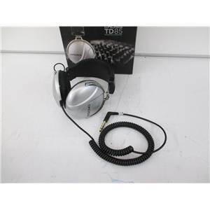 Koss 159782 Koss TD85 Stereo Headphone Stereo - Silver - NEW, OPEN BOX