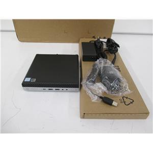HP 5JB87US#ABA ProDesk 600 G4 Mini PC Core i5-8600T 8GB 256GB w/WARRANTY