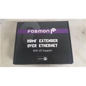 FOSMON CAT5EX1 HDMI EXTENDER OVER ETHERNET WITH 3D SUPPORT