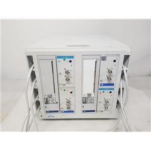 SpaceLabs Medical 90479A w/ 4x Q-Band Modules & 2x 90469 Printer Modules