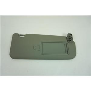 2011-2015 Kia Sorento Passenger Side Sun Visor with Mirror Extend Panel Vinyl