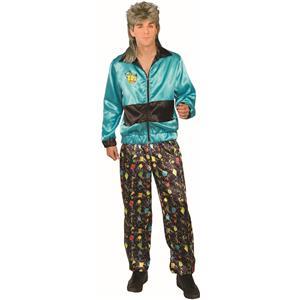 80's Men's Track Suit Retro Adult Costume Standard