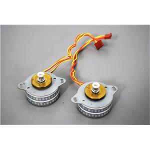 Lot of 2 Sonceboz 6161 R.148 Electric Stepper Motors w/Gearheads Warranty