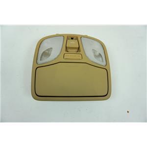 11-2015 Hyundai Sonata Overhead Console Panoramic Sunroof Map Lights Door Switch
