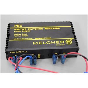 Melcher PSC 5A12-7 LC Positive Switching Regulator Warranty